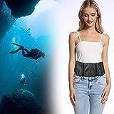 SALUTUYA Robuste tragbare Schnorcheltasche aus Oxford-Stoff Tauchtasche mit Mehreren Taschen Design...