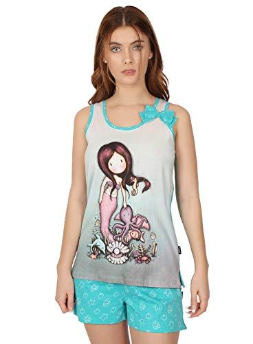 Santoro Pijama Tirantes So Nice To Sea You para Mujer, Color