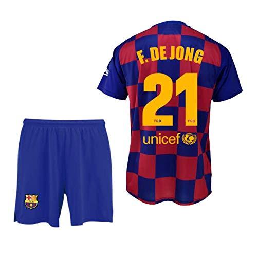 Dorsal Liso Adulto Talla L Barcelona 2019-20 Replica Oficial con Licencia Camiseta 1/ª equipaci/ón FC