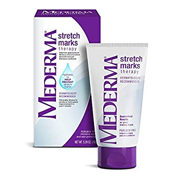 Mederma Stretch Marks Therapy Hydrates to Help Prevent Stretch Marks Clinically Shown to Produce Noticable Improvement in 4 Weeks Dermatologist Recommended Ivory 5.29 Ounce