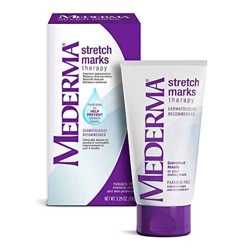 Mederma Stretch Marks Therapy, Hydrates to Help Prevent Stretch Marks, Clinically Shown to Produce Noticable Improvement in 4 Weeks, Dermatologist Recommended, Ivory, 5.29 Ounce