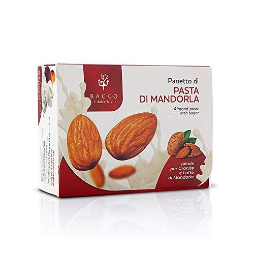 Panetto di Pasta di Mandorla con Zucchero Ideale per Granite e Latte di Mandorla