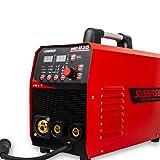 TOSENBA MIG Welder 200A 3 in 1 Combo MIG/STICK/Lift TIG Welder Solid/Flux Core