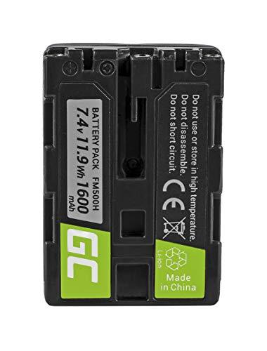Green Cell® NP-FM500H NPFM500H Batería para Sony Alpha A100 A300 A500 DSLR-A100...