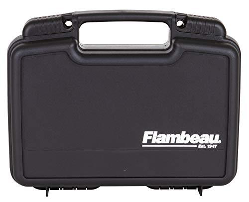 "Flambeau Outdoors 1011 Safe Shot 10"" Pistol Pack Case, Portable Firearm Storage Accessory"