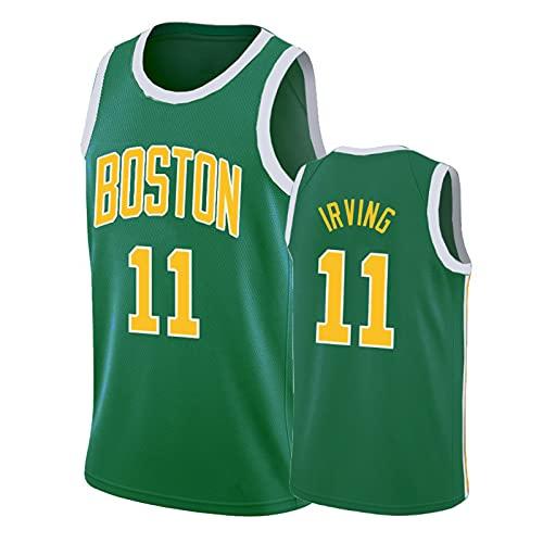 Irving # 11 Jersey, Uniforme De Baloncesto para Hombre, Fans De Deportes De Verano Ciudad Edition Jerseys Chalecos ~ 2XL E-XL