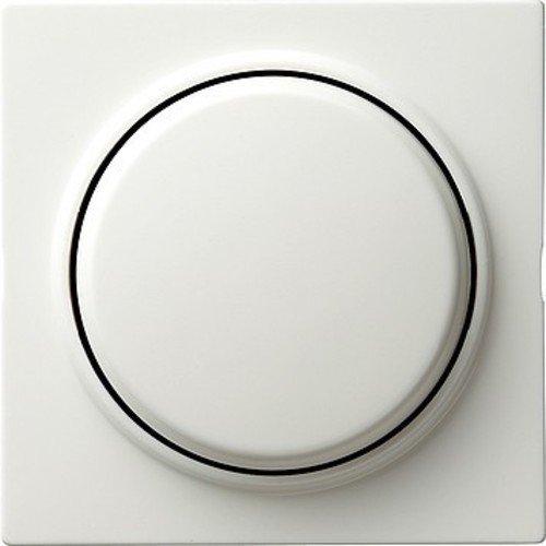 Gira Aufsatz Schalten + Dimmen 065540 System 2000 S-Color reinweiss, weiß