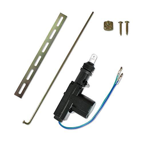 JOM Car Parts & Car Hifi GmbH 7103-1 Universal-Stellmotor, 2-polig, als Ersatz, Ergänzung oder Kofferraum Entriegelung oder bei Nachrüstung, Slave-Motor ohne Schalter