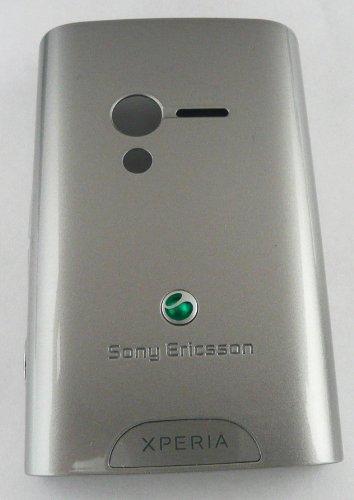 Original Sony ERICSSON XPERIA X10 MINI Akkudeckel Silber