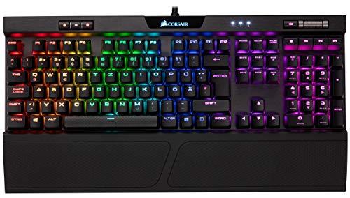 Corsair K70 RGB MK.2 tastiera USB Tedesco Nero