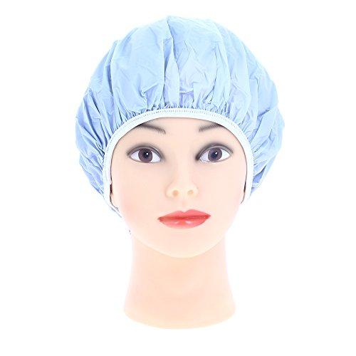 Sibel Bonnet Douche Plastique Bleu Ciel Bleu
