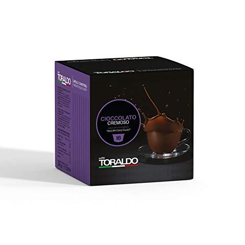 Caffè Toraldo Cioccolato Cremoso Capsules Compatibili con 'Nescafè Dolce Gusto' 16 Capsules