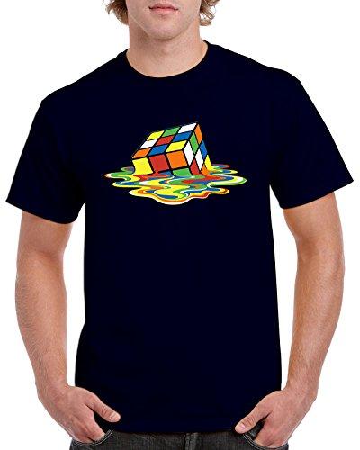 Camisetas La Colmena 4194-Parodia Magic Cube