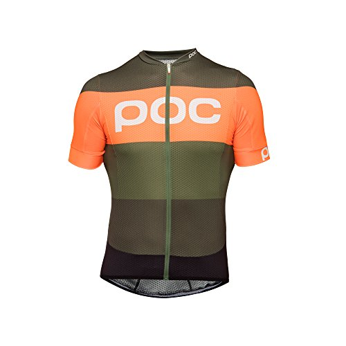 POC Essential Road Logo Maillot Mixte Adulte XS Vert (pentlandite Multi Green)