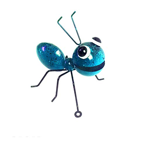 Janly Clearance Sale Garden Ants Art Outdoor Garden Backyard Metal Animal Decoration Gift , Home Decor forHome & Garden , Easter St Patrick's Day Deal (Blue)