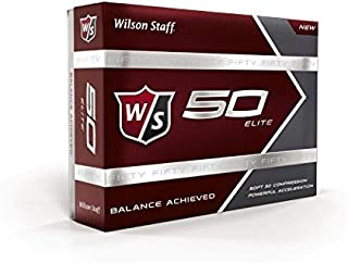 Staff Fifty Elite Golf Balls, Pack of 12