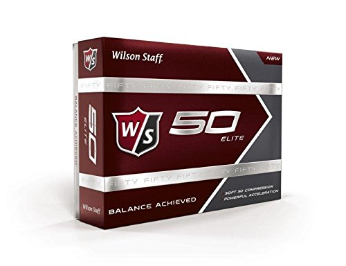 Wilson Golf Staff Fifty Elite Golf Balls