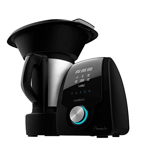 Cecotec Robot de Cocina Multifunción Mambo Black. Capacidad de 3,3l,...