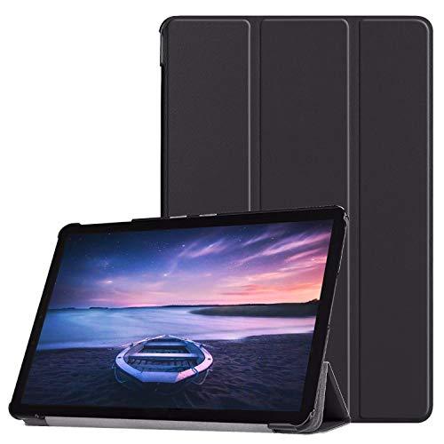 Hülle für Samsung Galaxy Tab S4 SM-T830 SM-T835 SM-T837 10.5 Zoll Schutzhülle Smart Cover mit Auto Sleep/Wake Schwarz