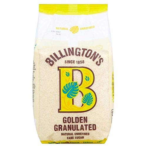 Billington Golden Granulated Natur raffiniertes Rohrzucker 1 kg