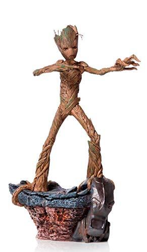 Iron Studios Groot Avengers: Endgame Battle, Diorama Series, 1/10 Art Scale Statue