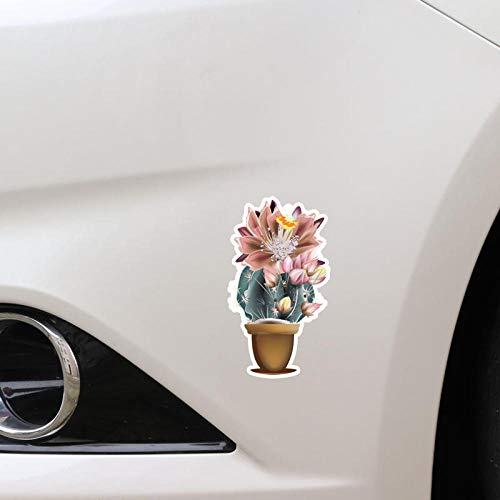 HQSM Car Stickers 9.1×16.5CM unique flower graphic decoration car sticker personalized decal