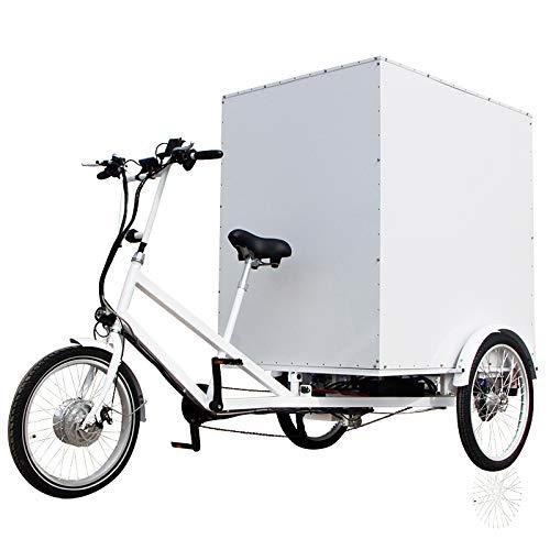 E-ROCK E-Lastenrad E-Donkey Cargo Fahrrad, ideal für den Transport von Lasten, 250 Watt, Lastenrad, Lastenfahrrad, Elektro-lastenrad,
