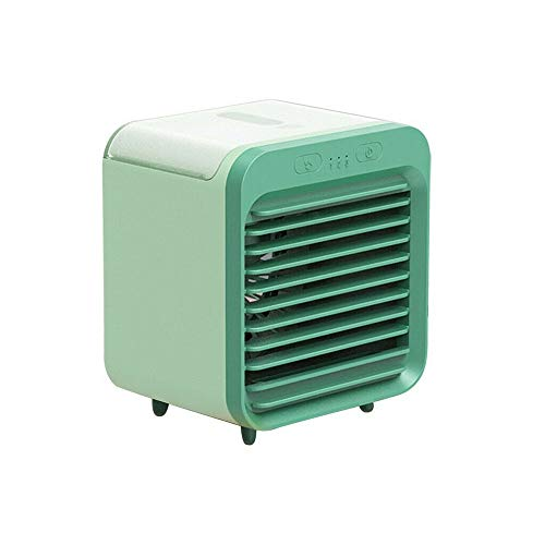 Annie Mini Air Cooler, 2020 Rechargeable Water-Cooled Air Conditioner Can Be Used Outdoors, Portable Air Conditioner Fan 3 Wind Speeds