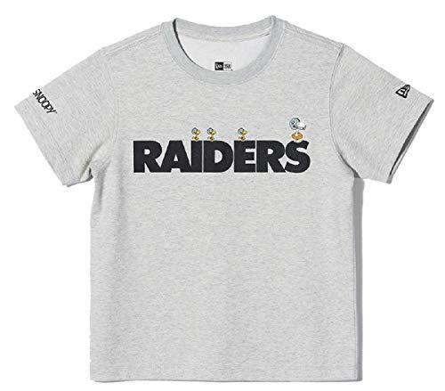 New Era Oakland Raiders T Shirt/tee NFL Peanuts Edition Grey - L