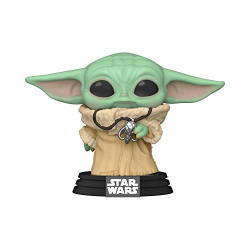 Funko Pop! Star Wars: The Mandalorian - The Child with Necklace Vinyl Figure, Fall Convention Exclusive