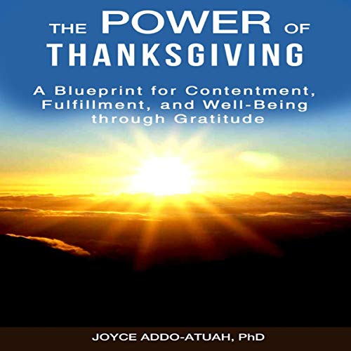 The Power of Thanksgiving audiobook cover art