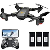 Teeggi FPV RC Drone with Camera Live Video, VISUO XS809HW WiFi...