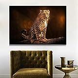 Caweilen Wildlife Animals Africa Leopard Wandkunst Poster