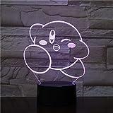 Kirby LED-Lampe, Farbwechsel, USB, Nachtlicht