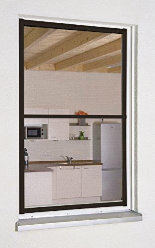Culex 100640102-VH Master XL - Mosquitera para ventana (130 x 220 cm), color marrón