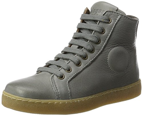 Bisgaard Unisex-Kinder Schnürschuhe Hohe Sneaker, Grau (409 Grey), 33 EU