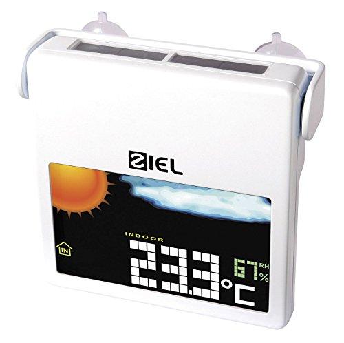 ZIEL - Stazione meteo da finestra ad energia solare VINDUE