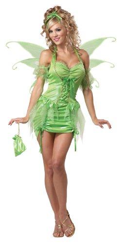 California Costumes - Costume da fata Tinkerbell da Donna Adulto Taglia XXL