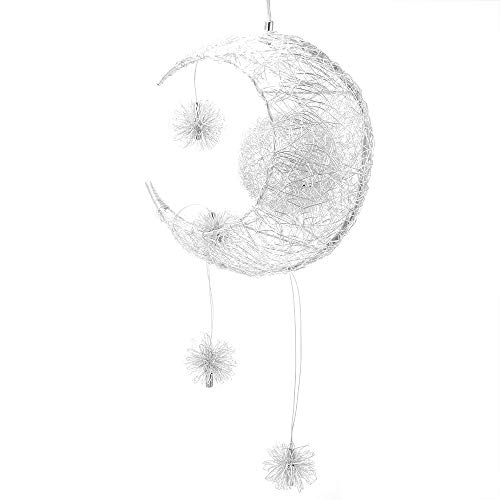 DDSKY LED Pendant Light, DDSKY Modern Moon Star Shape LED Pendant Lamp Chandelier Ceiling Light...