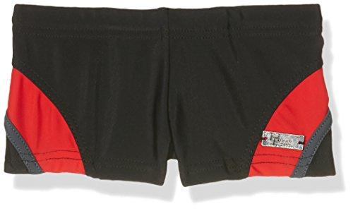 Haute pression B20 Short de bain Garçon Noir (Noir/Gris/Rouge) 12 ans (Taille fabricant: 12ANS)
