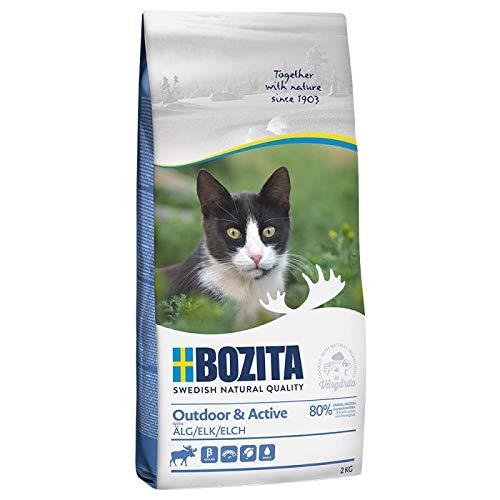 Bozita Feline Fonction Outdoor + Active 2 kg Nourriture sèche pour chats