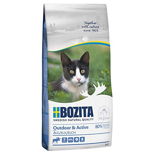 Bozita Feline Funktion Outdoor + Active 2 kg, Futter, Tierfutter, Trockenfutter für Katzen