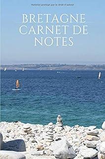 """BRETAGNE Carnet de Notes: Carnet de Notes ligné - 6"""" x 9"""" pouces - format cahier - 15,24 cm x 22,89 cm - 100 pages - poste..."""
