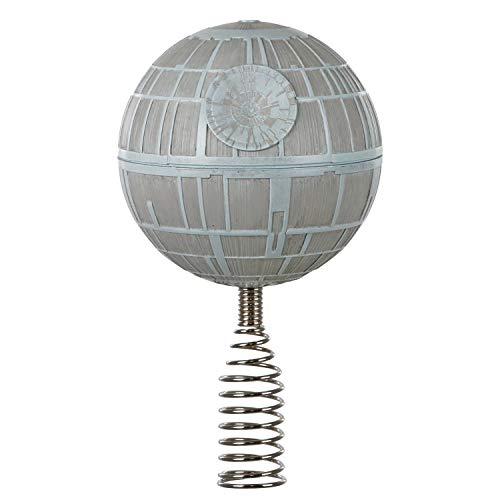 Hallmark Keepsake 2020, Miniature Star Wars Death Star Christmas Tree Topper, 2.6'