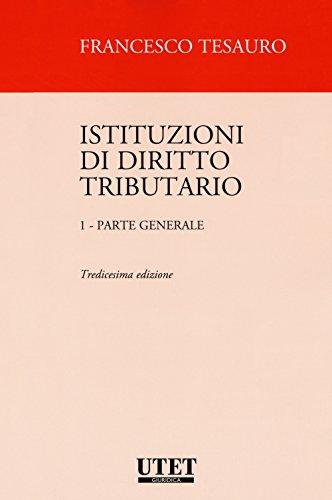 Istituzioni di diritto tributario: 1