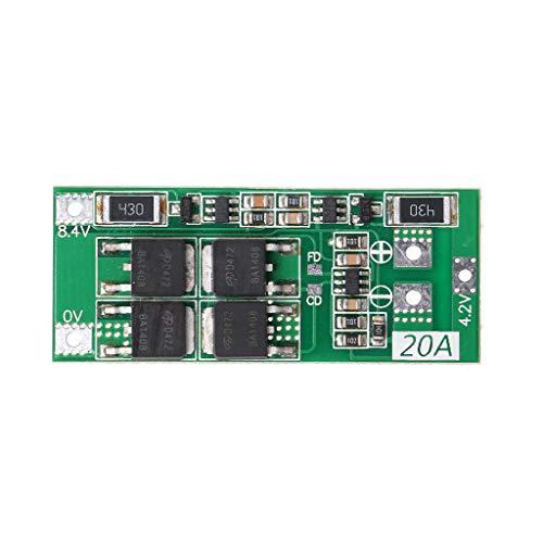 ZZALLL 2S 20A 7,4 V 8,4 V batería de Litio de Iones de Litio 18650 Cargador PCB BMS Placa de protección