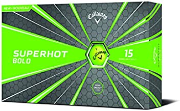 Callaway Golf Superhot Bold Matte Golf Balls Prior Generation (Green)