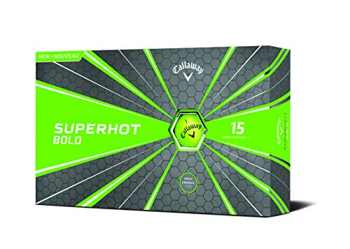 Callaway 2018 Superhot Bold Golf Balls Green 15