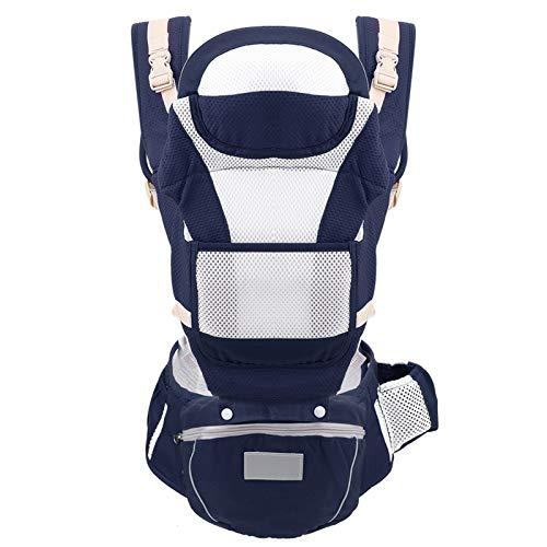 XYLZDPZ Syczdyebd 0-36M Carrier de bebé Ergonómico Portador de bebé Infantil Bebé ergonómico Canguro Bebé Sling for recién Nacidos Fular portabebe (Color : D)