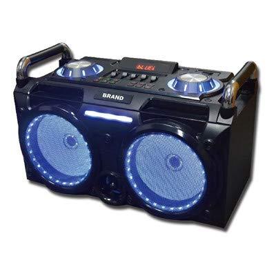 SAKKYO Mini Cadena PORTATIL DJ630 BATERIA Recargable 300W Karaoke